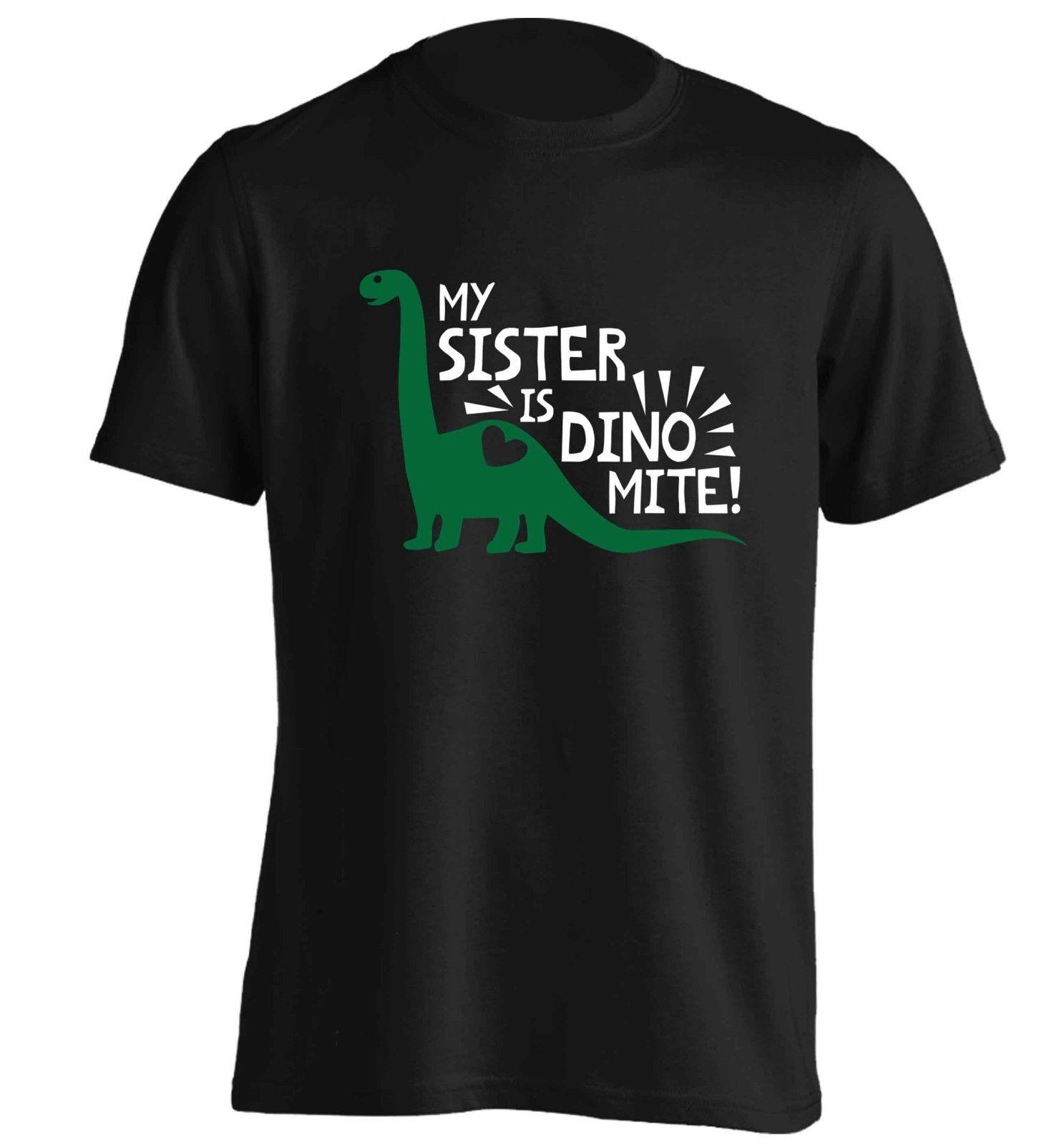 112f20f394e My Sister Is Dinomite T Shirt Dinosaur Animal Extinct Funny Hipster Brother  5635 Gift Print T Shirt