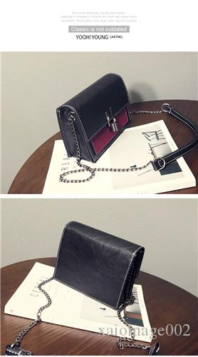 2019 new Korean version of the wild envelope bag mini chain clutch bag shoulder bag Messenger handbag tide 8585545