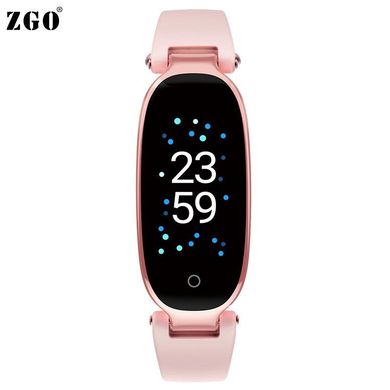 9e75165af ZGO Sport Smart Digital Watch Women Heart Rate Monitoring Pedometer  Waterproof Fitness Tracker Women Wrist Watches Gifts Box 623 Black Watches  Wholesale ...