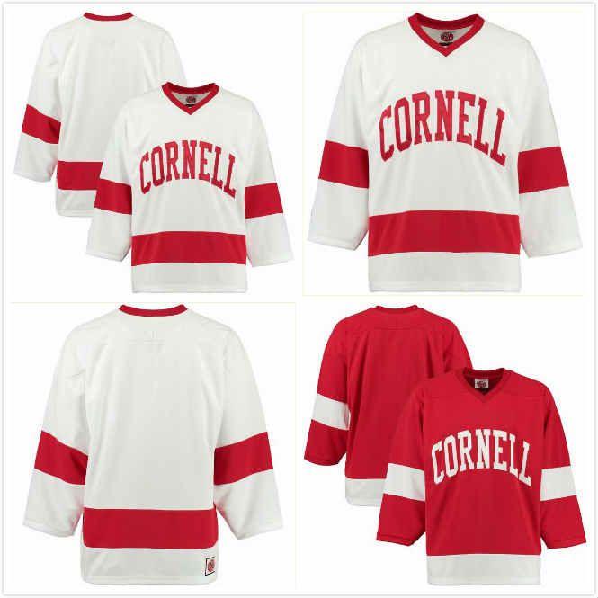 2019 Liam Motley Jersey 23 Tristan Mullin 26 Matt Cairns 16 Brenden Locke  28 Jeff Malott 22 Zach Bramwell 17 NCAA Cornell Hockey Jersey S 3XL From  Ljgomlb 854ffdbdfbb