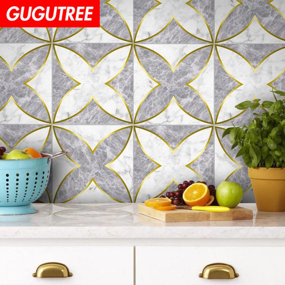 Decorate home 3D ceramic tile cartoon art wall sticker decoration Decals mural painting Removable Decor Wallpaper G-2482