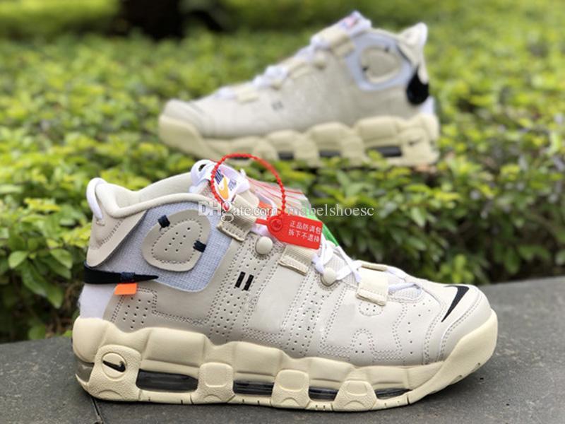 addddb3c7b0e06 Brand New More Uptempo Pippen Men Basketball Shoes Designer Running ...