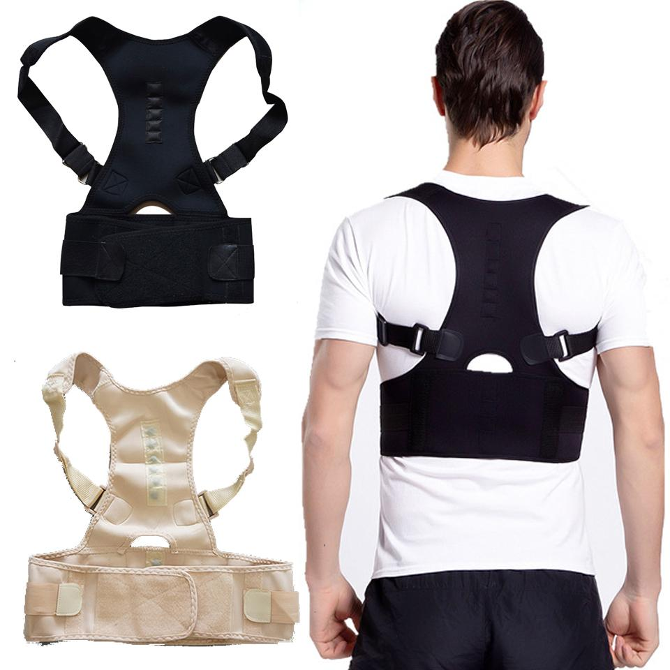 Neoprene Posture Corrector Brace Shoulder Back Support Belt for Men Women Braces Supports Belt Shoulder Posture Prevent humpback