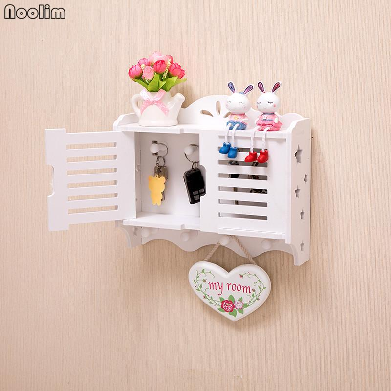 NOOLIM Home Wall Shelf Entrance Wall Hanging Key Storage