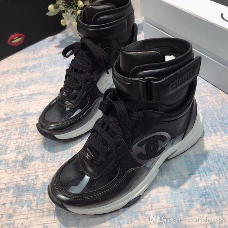 cheaper 19fa3 24307 Fashion men designer shoes Casual Ankle Boots flats high-top superstars  luxury women sports shoes Classic shoes Couple models size 11