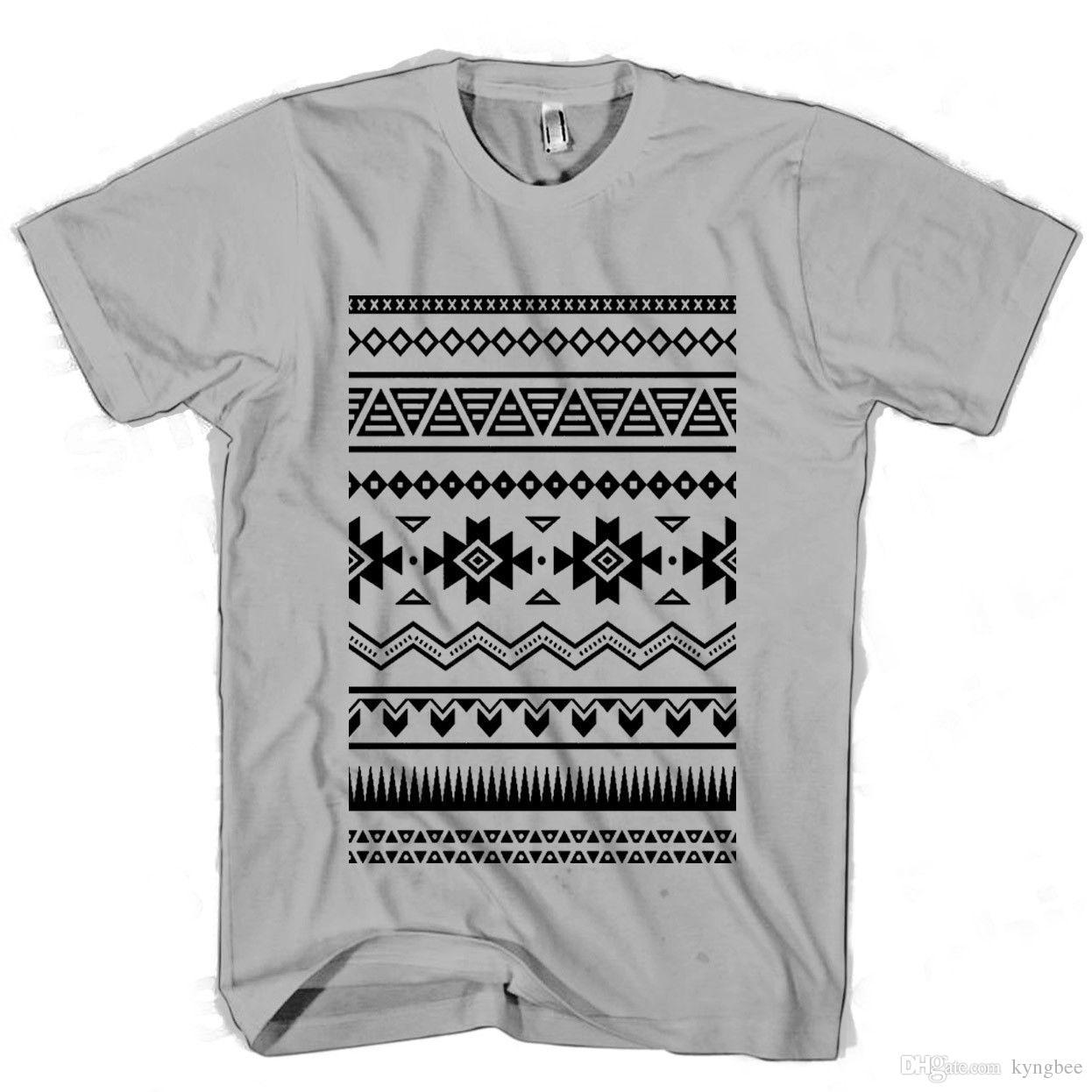 04a41251e7577 Compre Modelo Azteca Hombre   Camiseta De Mujer A  10.72 Del Kyngbee ...