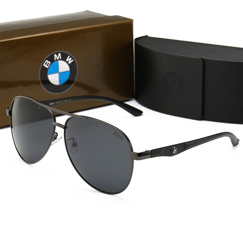 dbd63d3a5f Compre 0115 BMW Hombres Mujeres Tendencia De Moda Gafas De Sol ...