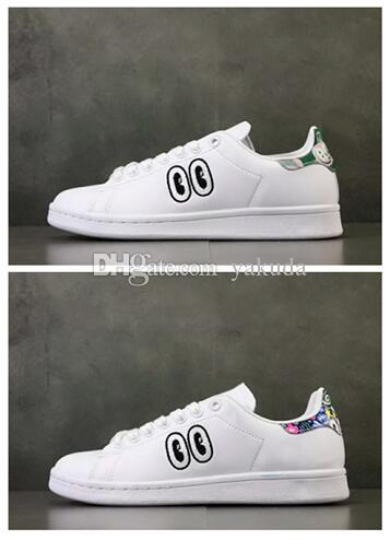 quality design c3167 23b35 STAN SMITH W With Big Eyes,Sweethearts lovers Shoes,ladies running  shoes,formal shoes for women,good price girl Leather fashionable casual