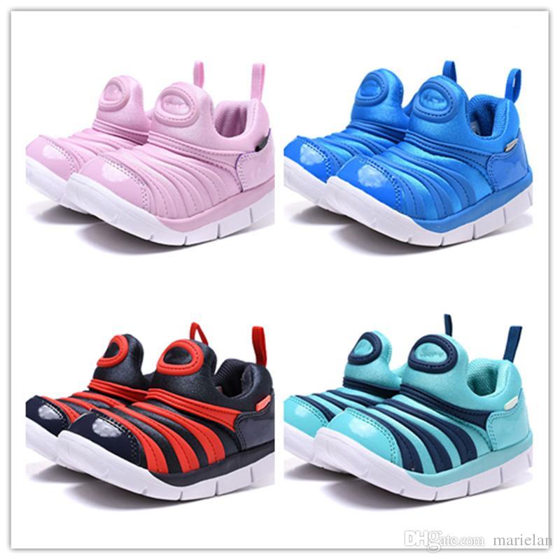 7b7e68c7d12c5 Acheter Enfants Bébé Dynamo Gratuit Chaussures Pour Garçons Filles Enfants  Haute Qualité Parent Enfant Athlétique Baskets Extérieures Caterpillar  Chaussure ...