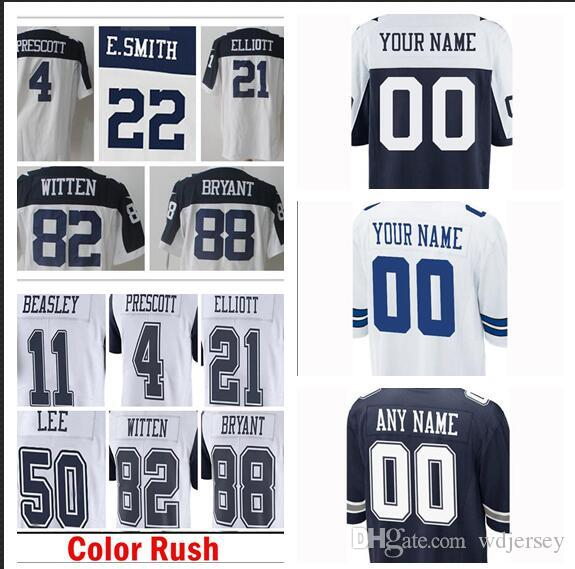 55 Leighton Vander Esch Dallas Jersey Cowboys 19 Amari Cooper 22 ... abae04576