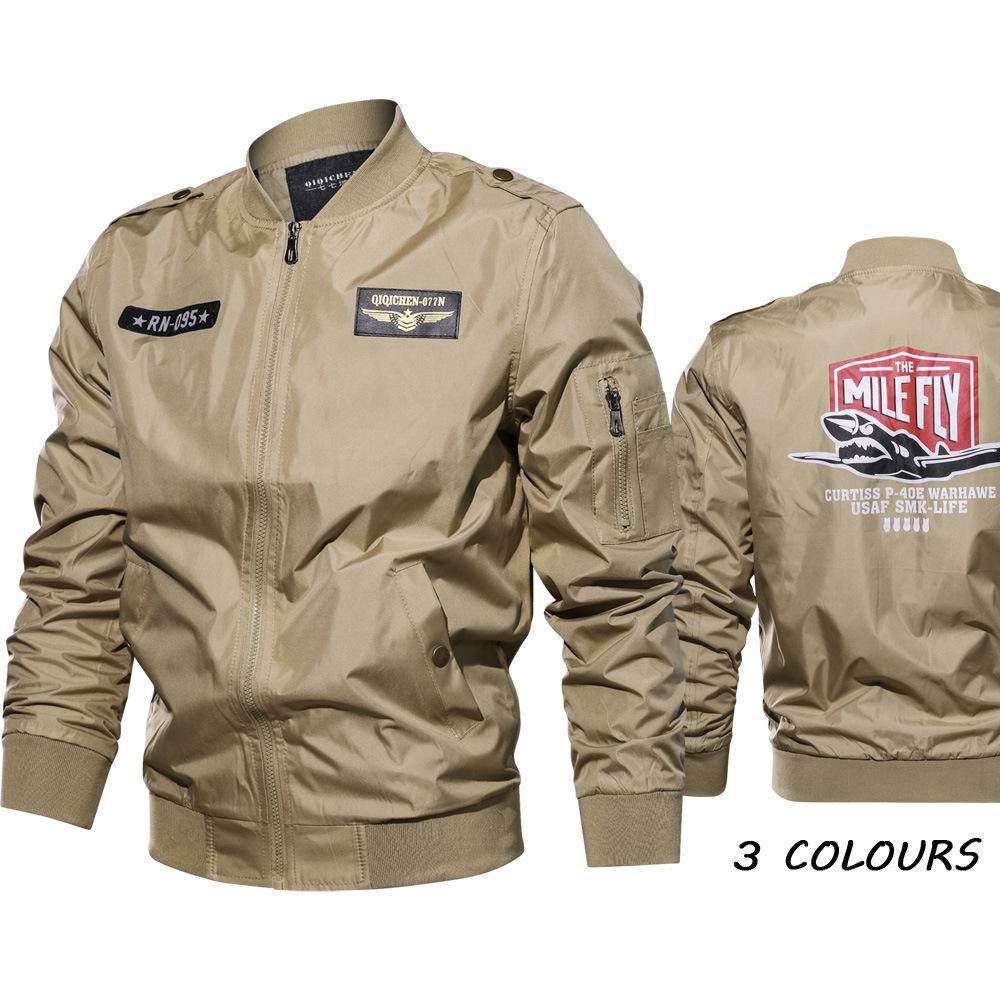 Cross-border Express Amazon wishebay No  1 Flight Suit Extended Autumn  Jacket Coat
