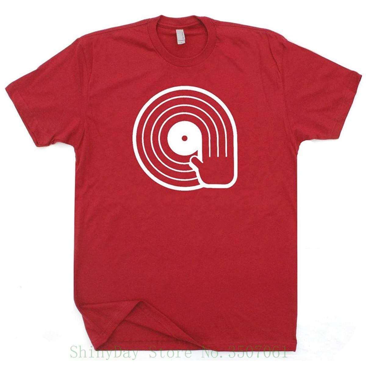 d62b36b0c Compre Camisas Para Dj Reproductor De Discos De Vinilo Playeras Giratorias  Confía En Mí Soy El Dj Beso Camiseta Vintage Retro 80s Camiseta Gráfica  Caliente ...