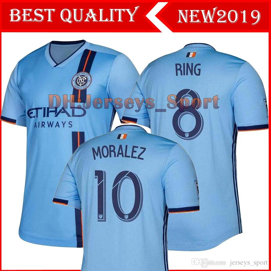 maillot de foot nycfc 2019 new-yorkais 19 19