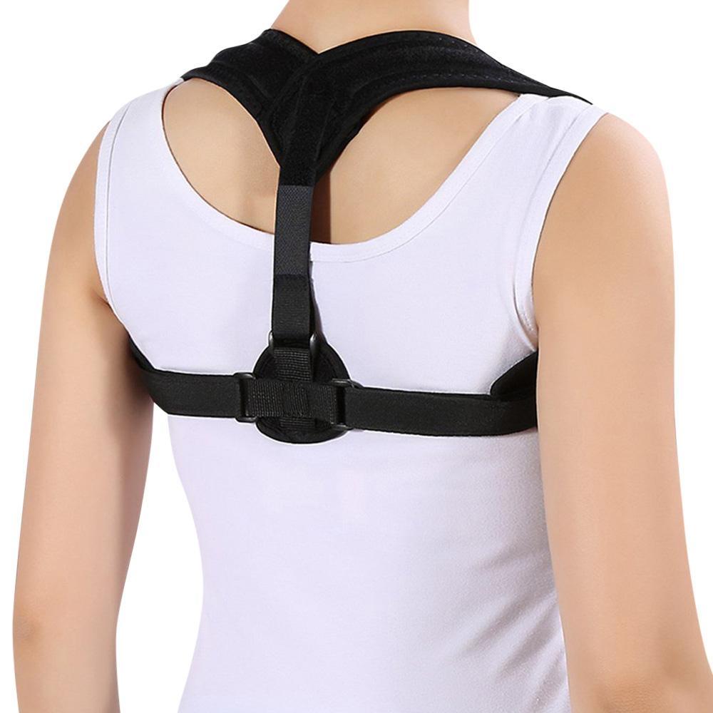 5f1fd43e5ad31 Adjustable Back Posture Corrector Clavicle Correction Belt Shoulder Brace  Upper Back Posture Correction Corset Spine Support Belt +B Sholder Brace  Shoulder ...