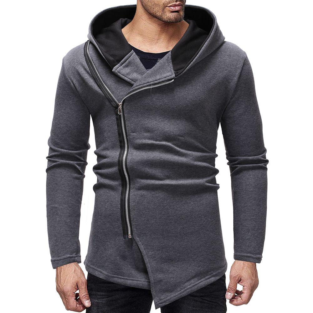 cf3474e698dcf 2019 Hoodies Mens Grey Sudaderas Para Hombre Slim Fit Winter Men Hoodies  Dropshipping Fashion Sweatshirts Mens Cheap Clothes China From Maoku