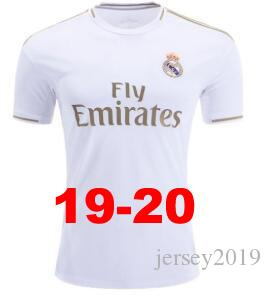 cheap for discount 61a34 2000c 2019 20 Real Madrid home white away 3rd soccer jersey HAZARD KROOS BENZEMA  ISCO ASENSIO SERGIO BALE football uniform shirt