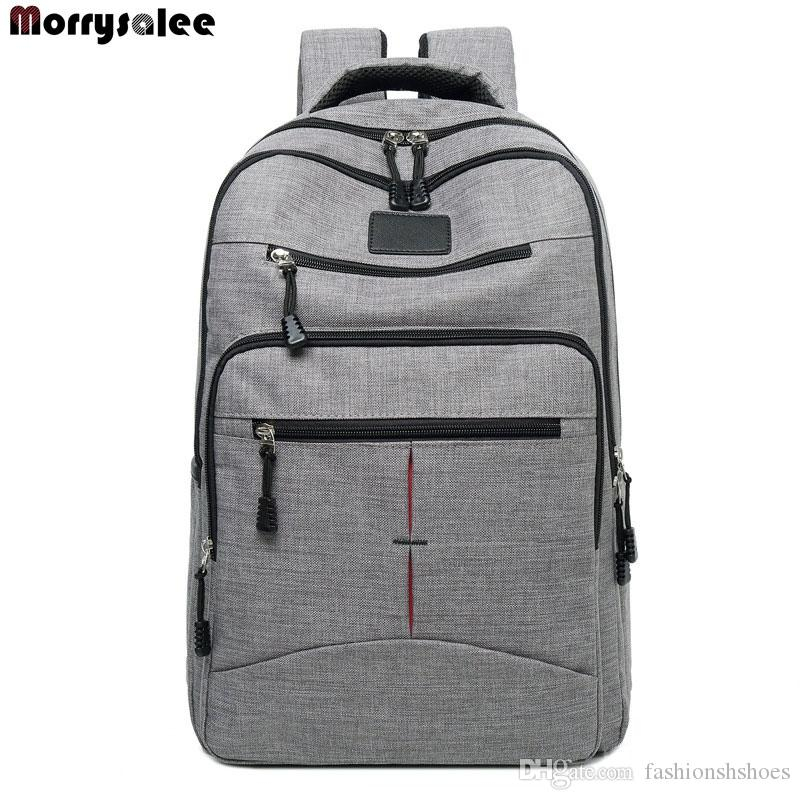 b9966a8b46 2018 New Men S Backpack Bag Male Polyester Laptop Backpack Computer Bags High  School Student College Students Bag Male Travel  44554 Cute Backpacks  Hiking ...