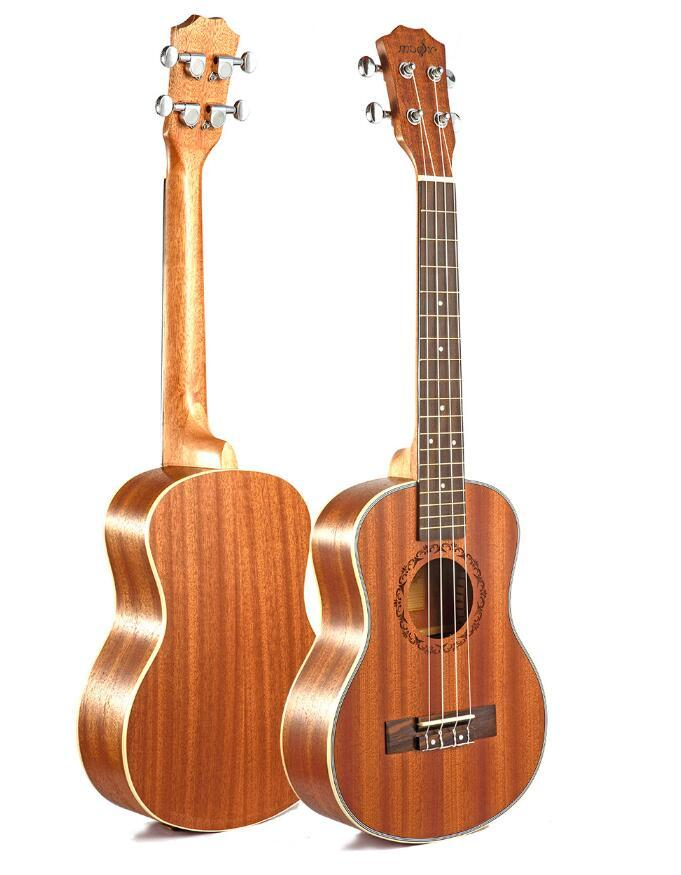 Standard 26 inch ukulele mahogany four-string small guitar mahogany beginner entry instrument free shipping