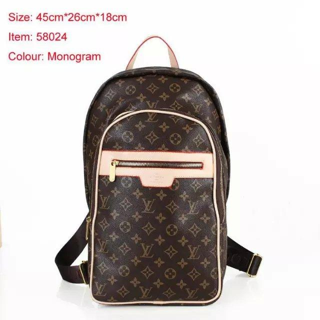 bb3a14683033 Flouis Vuitton 1 Backpack Men Leather Shoulder Bags 189 Travel Bags N58024  Handbags Tote Clutch School Bags Purse 1 Louis Online with  34.74 Piece on  ...