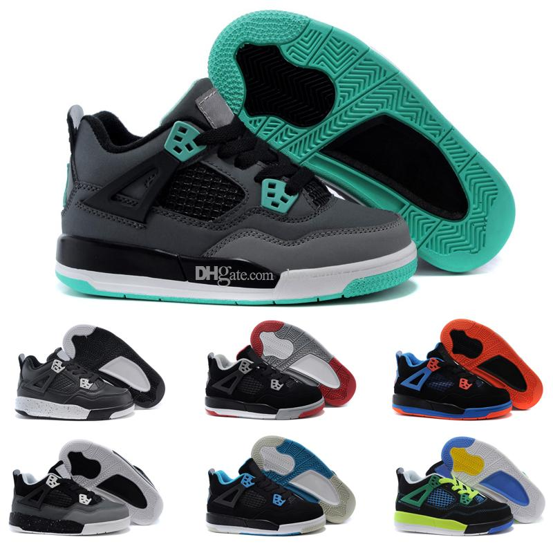 online retailer 040bb e9e22 Compre Nike Air Jordan 4 13 Retro Niños 12 Zapatos Zapatos De Baloncesto  Para Niños Chica Para Niño 12 S OVO Francés Azul El Maestro Taxi Playoff  Zapatos ...