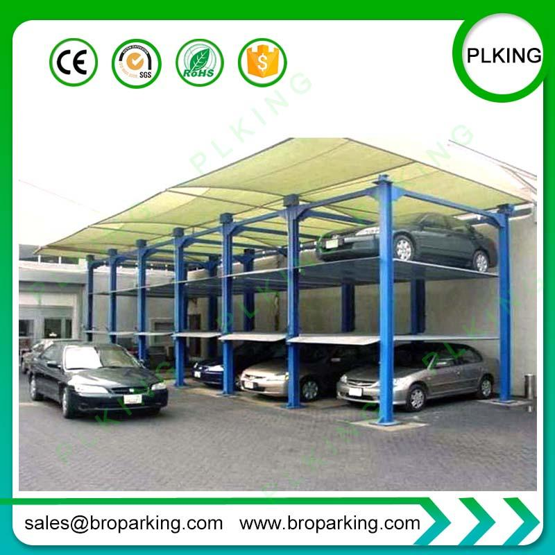 2019 Hydraulic Commercial Car Lifts Vertical Parking System For