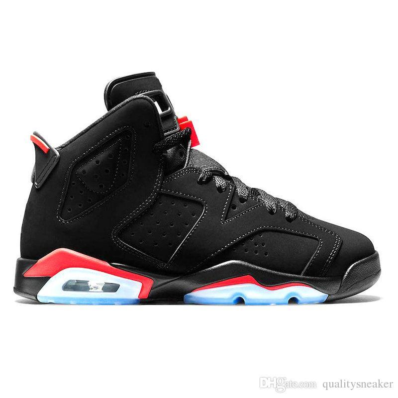 360ae337ca23db 2019 New Bred Men 6 6s Basketball Shoes Tinker UNC Black Cat White Infrared  Red Carmine Toro Mens Designer Trainer Sport Sneaker Size 7 13 From ...
