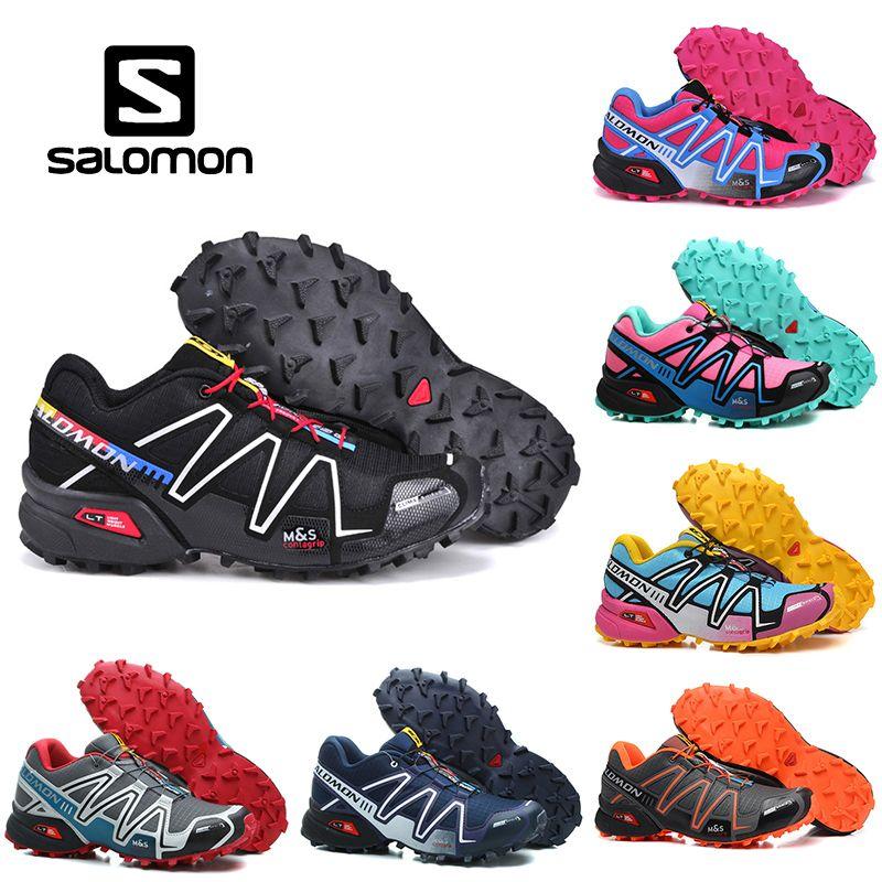 Cheap Salomon Speedcross 3 CS Outdoor Hiking Trail Men's
