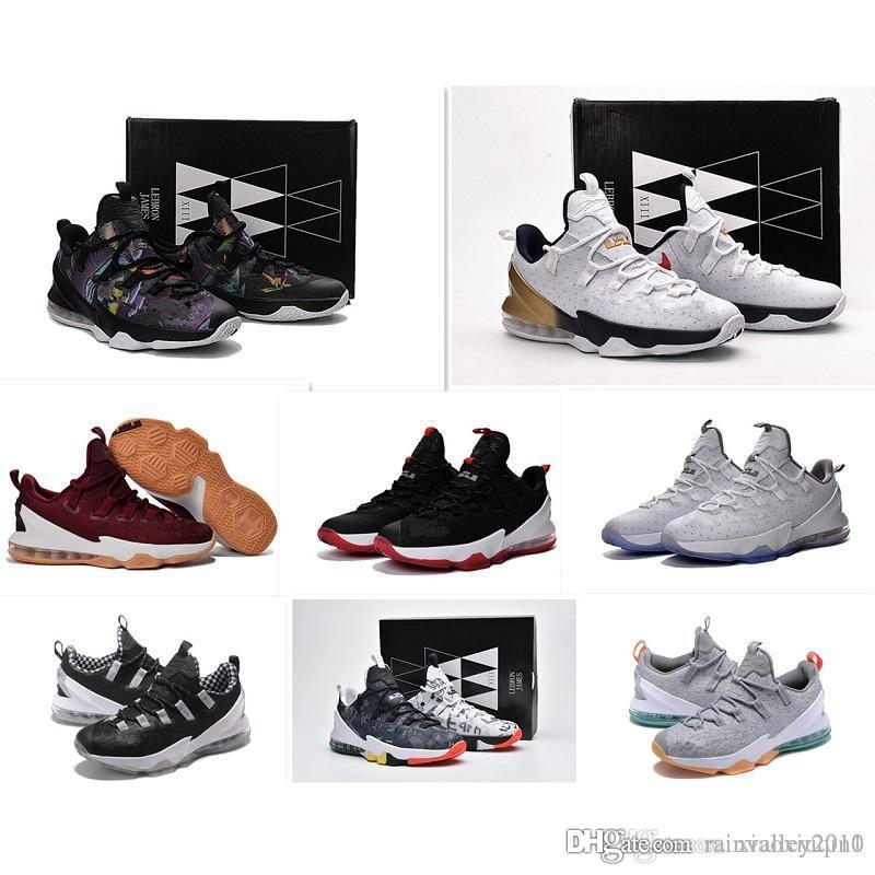 496ff260df63 2019 What The Lebron 13 XIII Low Shoes Mens Basketball For Sale MVP ...