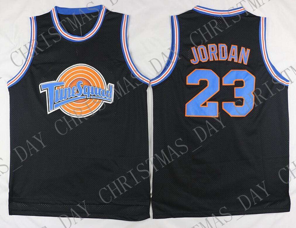 timeless design 734bc ca55a Cheap custom #23 Space Jam Tune Squad Basketball Jersey MJ Black Stitched  Customize any name number MEN WOMEN YOUTH JERSEY XS-5XL