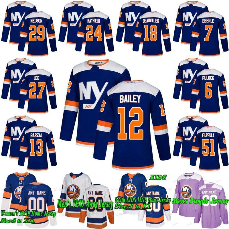 cb505d9a8 2019 Matt Martin New York Islanders 2019 Third Mathew Barzal Anders Lee  Josh Bailey Brock Nelson Valtteri Filppula Eberle Ryan Pulock Jersey From  Felixtrade ...