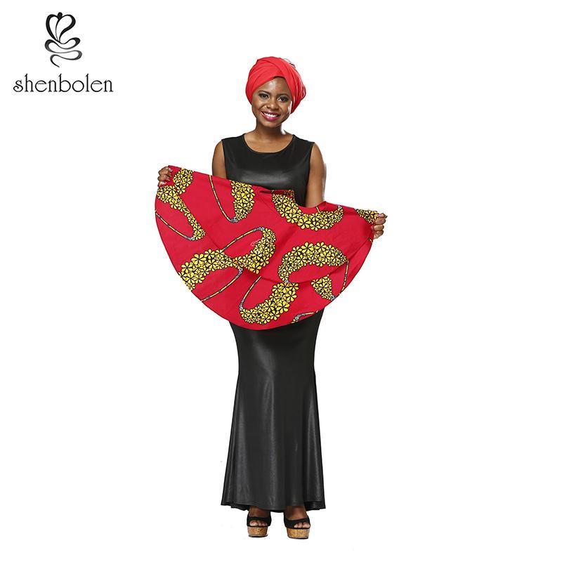 2019 Shenbolen African Dresses For Women Dashiki Wax Fabric Fashion Clothes  Sleeve Dress High Quality Cloak Dresses From Xiatian4 caa1f184a38c