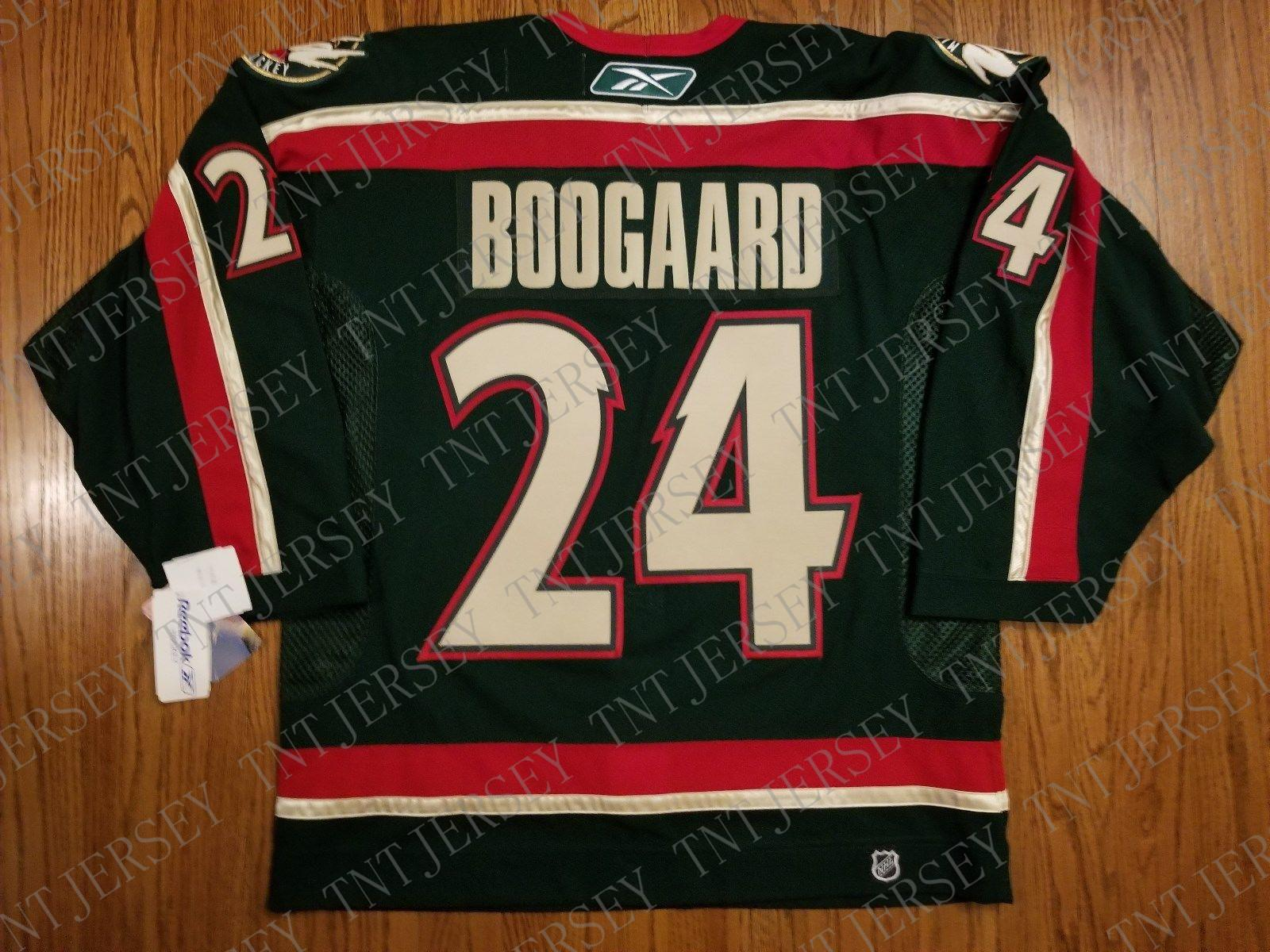 online store 9bd9f 7965d Cheap custom Derek Boogaard Vintage Minnesota Wild 6100 Pro Jersey Stitched  Retro Hockey Jersey XS-5XL