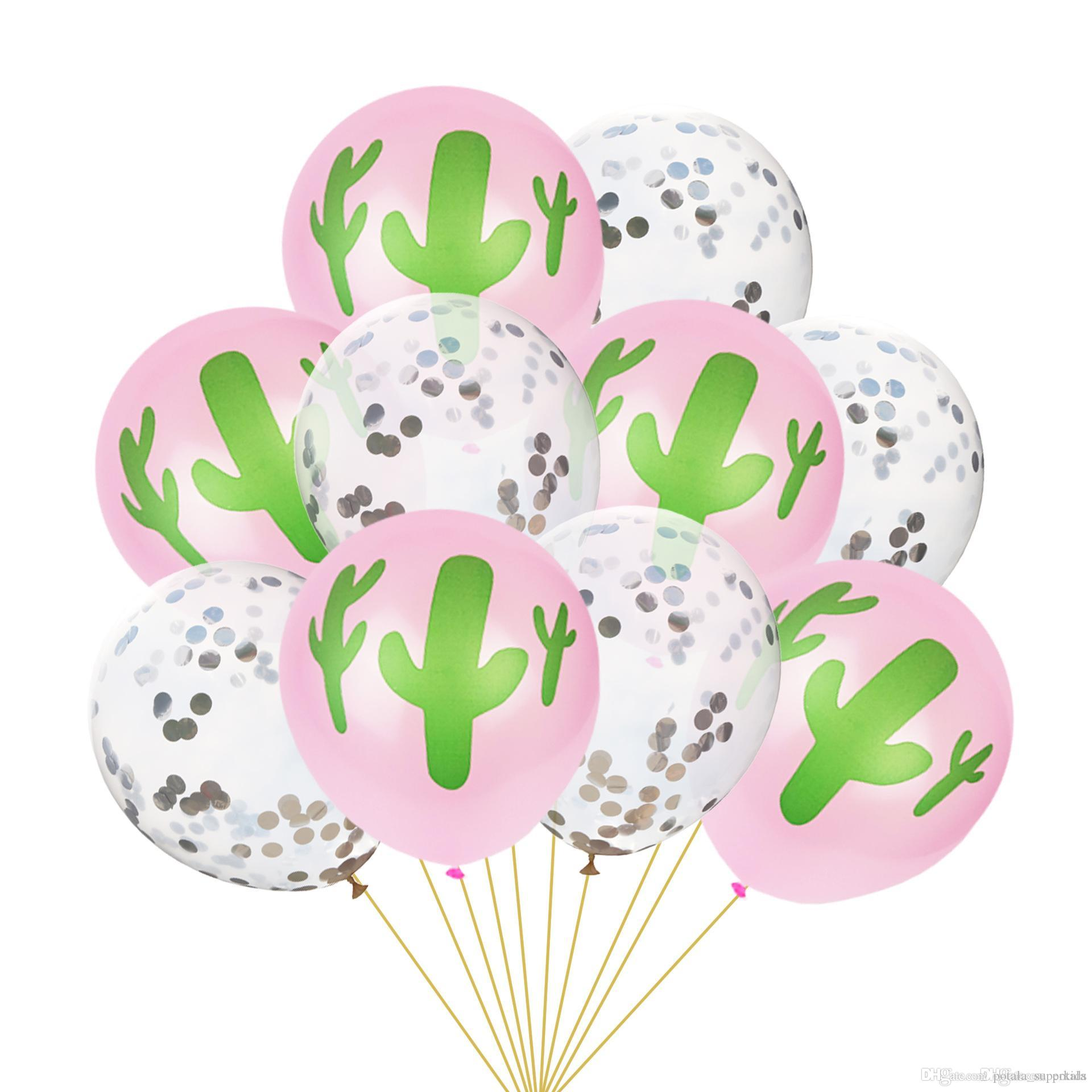 10inch cactus balloons12inch transparent balloons latex ballons