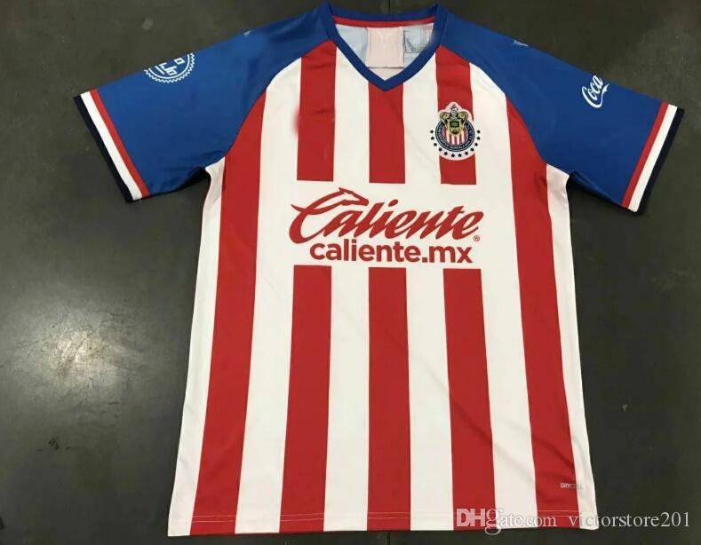 acafe16f6 2019 2019chivas Guadalajara Soccer Jerseys Home Away 19 20 Mexico ...