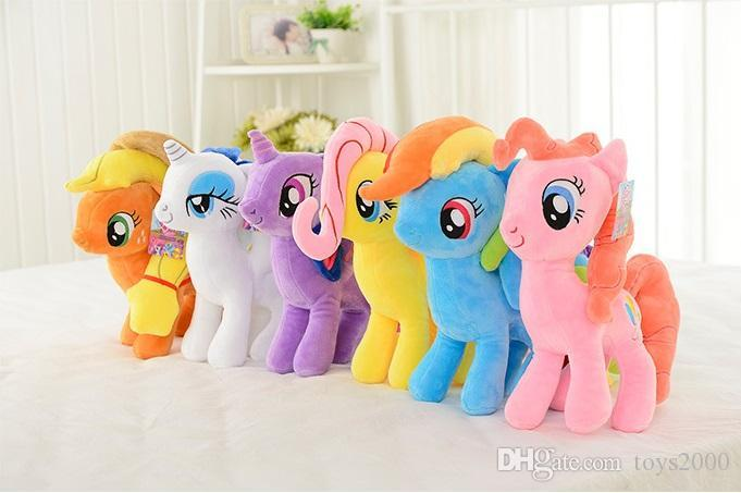 2019 New plush toy 20cm collection popular plush pony as a children's Children's Christmas gift Creative pony plush toy