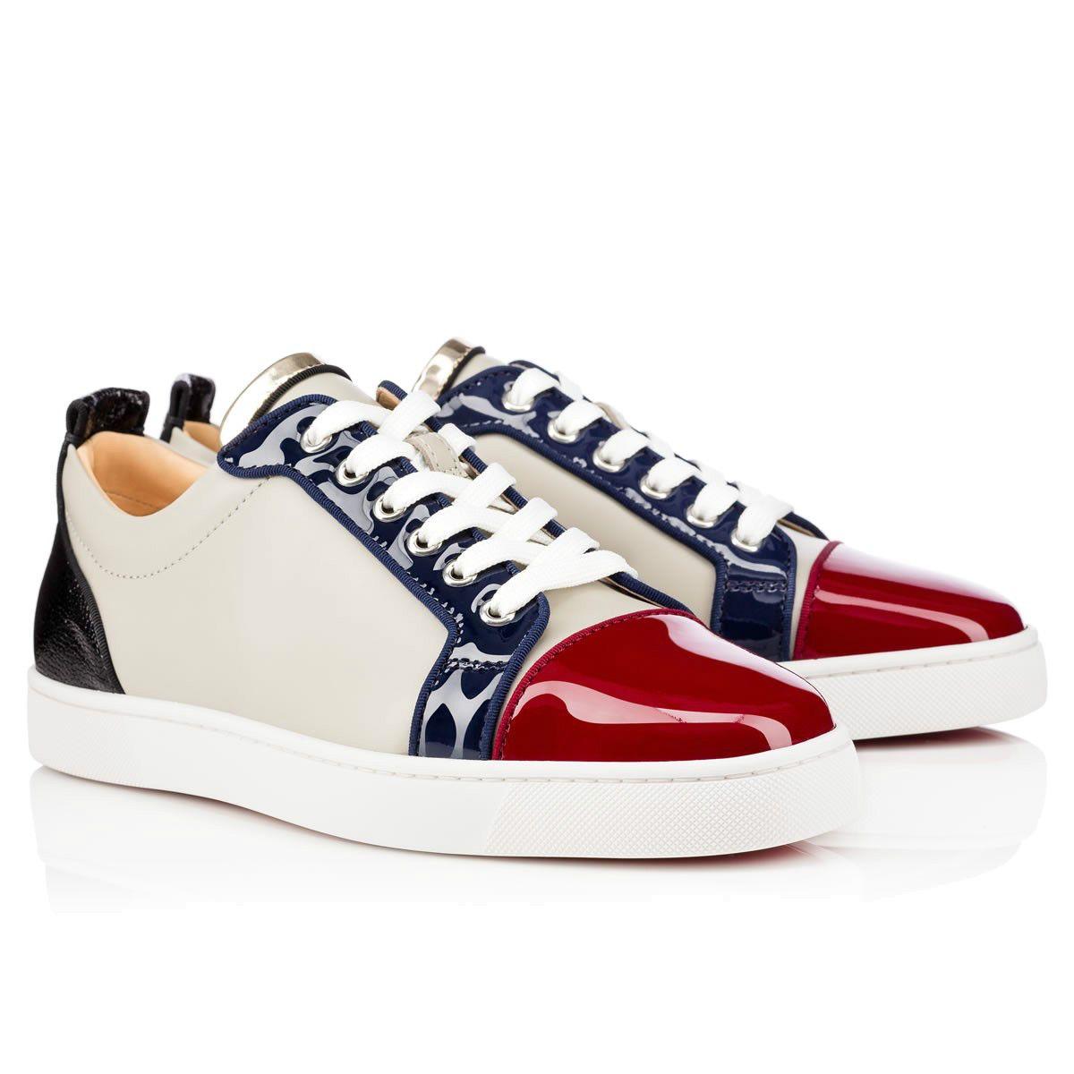 online store 1d6d6 358c4 Großhandelspreis Rote Sohle Low Top Sneakers Schuhe Junior Weiß Schwarz  Echtes Leder Frauen Männer Rote Untere Schuhe Mode Lässig Schuhe 3A
