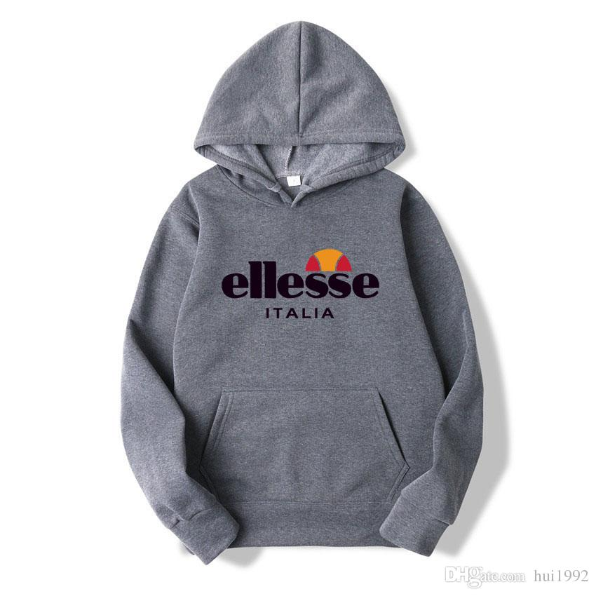fb0691a3c0 2019 Mens women Ellesse polo Hoodies and Sweatshirts autumn winter casual  with hood sport jacket tracksuit men s women s hoodies Sweater