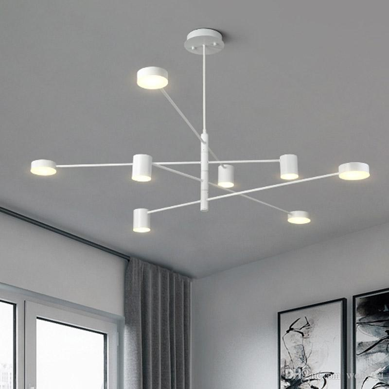 Modern LED Chandeliers Ceiling Nordic Pendant Indoor Lamps For Living Room  Restaurant Bedroom Chandelier Lighting Lampadari Home AC 100 240V Metal  Pendant ...