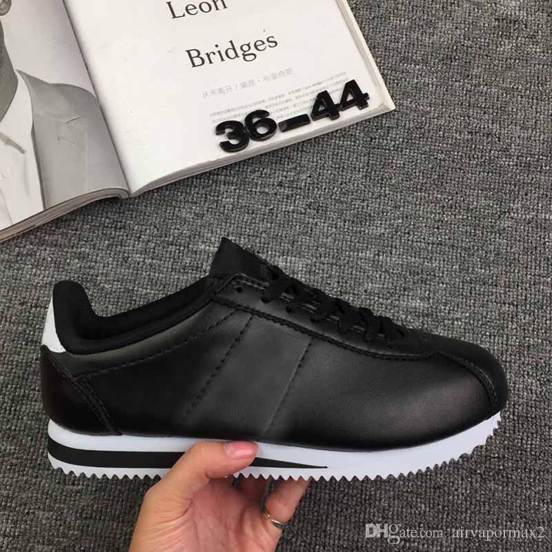 sports shoes 232b6 47b56 Compre 2018 Nueva Venta Caliente Cortez Zapatos Alta Calidad Ocio Redes  Zapatos Moda Exterior Hombres Y Mujeres Zapatos Tamaño Eur36 44 Envío  Gratis A ...