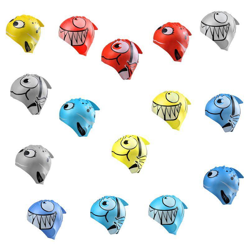 Acquista Cuffia Da Nuoto Bambini Cartone Animato Di Pesce Stampato  Impermeabile Protegge Le Orecchie Tessuto Morbido In Silicone Leggero Uso  Nuotata A ... 655e049323f2