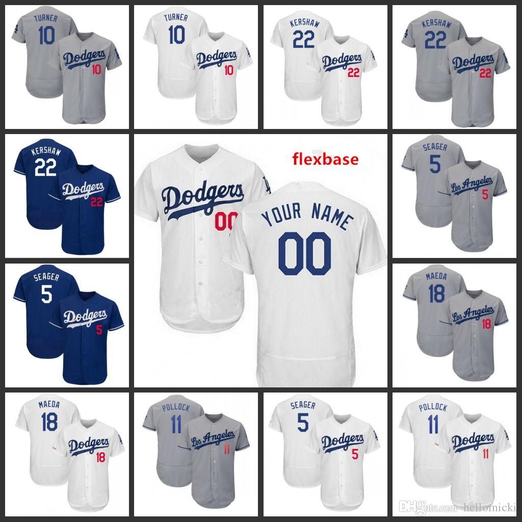 online store 99c14 c9941 Justin Angeles Custom Los 5 Clayton Dodgers Sewn 2019 22 ...
