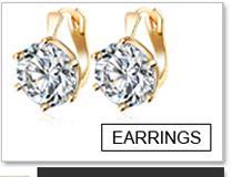 Brincos Orecchini di cristallo Moda oro nastro Colore pendente zircone Orecchini pendiente le donne geometriche orecchino lungo 2018