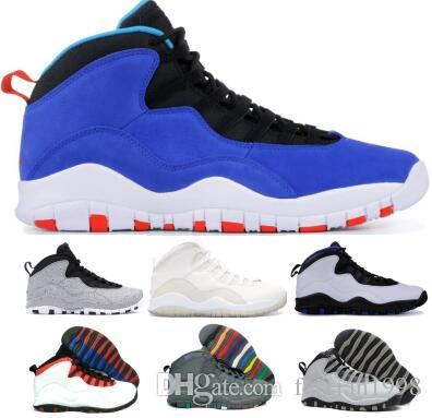 32548c071885e Chicago 10 Basketball Shoes Sneakers Men Man 2019 New Blue Tinker ...