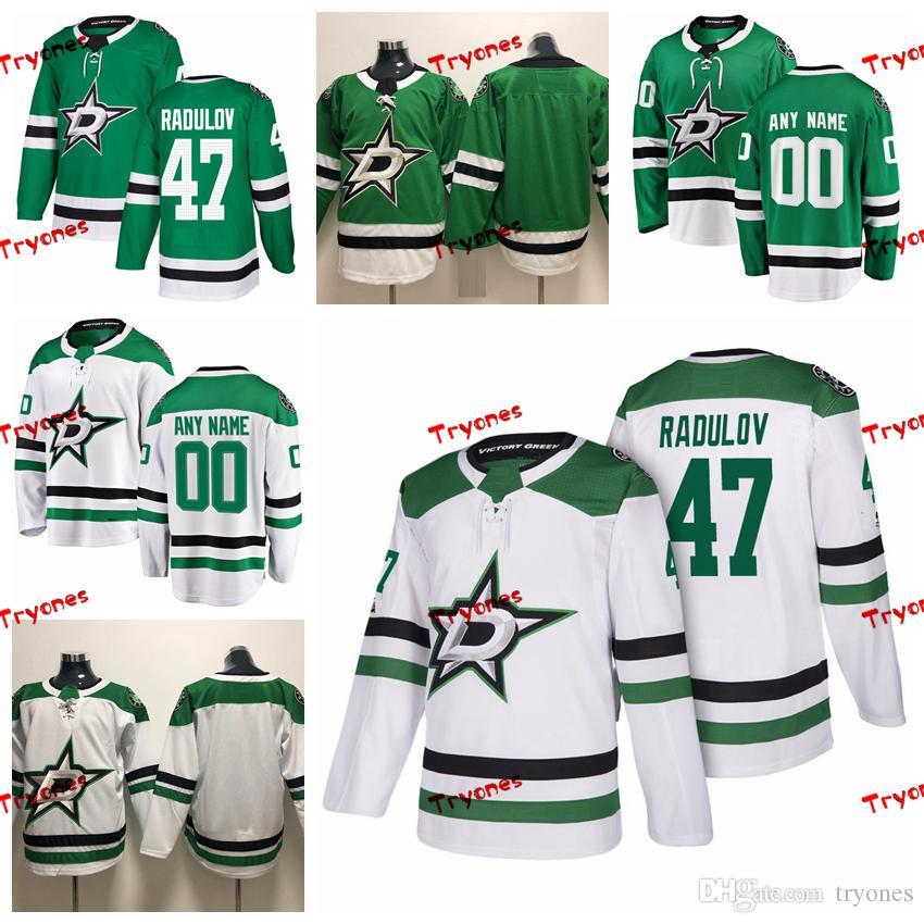 huge selection of c3dc0 2de17 2019 Customize Alexander Radulov Dallas Stars Stitched Jerseys Custom Home  Green Shirts #47 Alexander Radulov Hockey Jerseys S-XXXL
