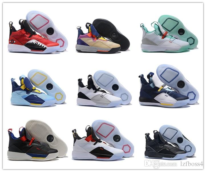 2691edbe53c591 2019 2018 New Jumpman 33 Visible Utility Mens Basketball Shoes Tech Pack  Future Of Flight Sports 33s XXXIII Jade Trainers Sneakers Size 40 46 From  Lzfboss4