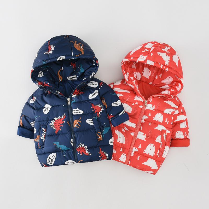 966fc380c4ec JN8910 Children Autumn Winter Cotton Padded Clothes Jacket Baby Girl ...