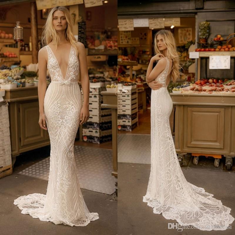 3b1c027a9d5 Cheap Line Ruched Illusion Neckline Wedding Dresses Discount Crepe Illusion Wedding  Dress