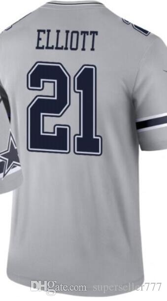 2020 Men's Dallas 4 19 21 54 55 90 jersey Shirts Man Inverted legend version Limited Jersey American football jerseys 01