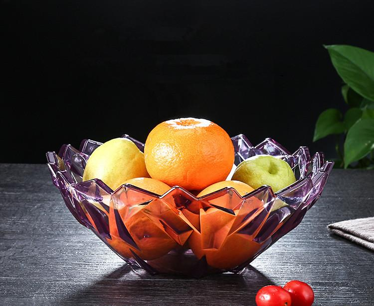 2019 Dry Fruit Plate Home Food Plate Decoration Japanese Thicken Ps