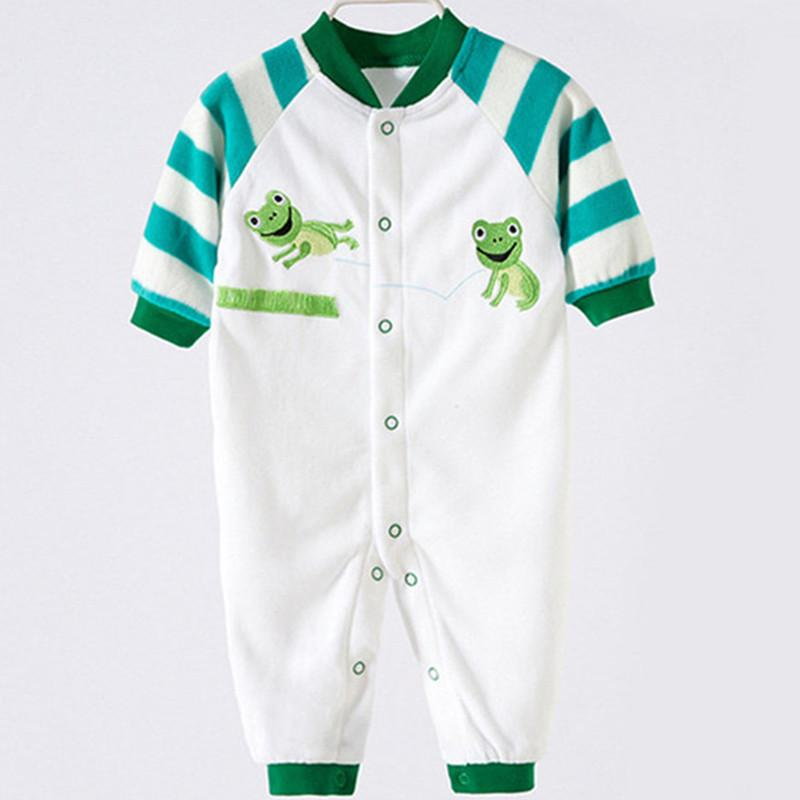 eb01603c0 Autumn Wear Long Sleeve Polar Fleece Clothing Jumpsuits Baby Boy ...